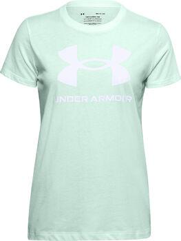 Under Armour Live Sportstyle Graphic sportovní tričko Dámské zelená