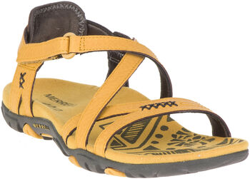Merrell Sandspur Rose Lthr outdoorové sandály Dámské žlutá