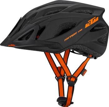 KTM Factory Line cyklistická helma Pánské šedá
