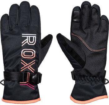 Roxy Freshfield Girl lyžařské rukavice černá