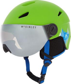 McKINLEY Pulse Visor lyžařská helma zelená
