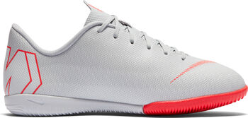 Nike VaporX 12 Academy Jr Chlapecké šedá