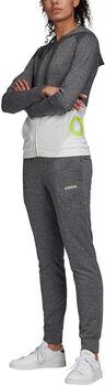 adidas WTS Lin FT Hood Dámské šedá