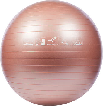 ENERGETICS Gymnastický míč růžová