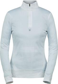 Spyder Tempting Zip T sportovní tričko Dámské bílá