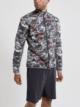 Craft Vent Pack Jacket běžecká bunda Pánské černá