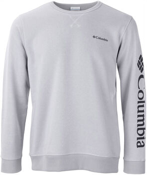 Columbia M Logo Fleece Crew Pánské šedá