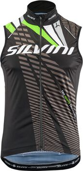 Silvini Team cyklistická vesta Pánské černá