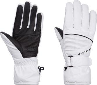 Dám.lyž.rukavice Brenna, Aquamax, kož.dlaň