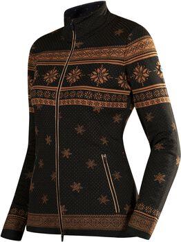 Newland Lady full zip N4 lyžařské tričko Dámské černá