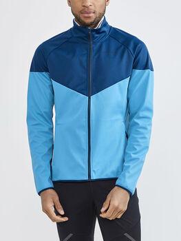 Craft Glide Block Jacket softshellová bunda Pánské modrá