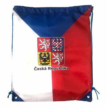 NOBRAND Fanouškovský gymsack Česko bílá