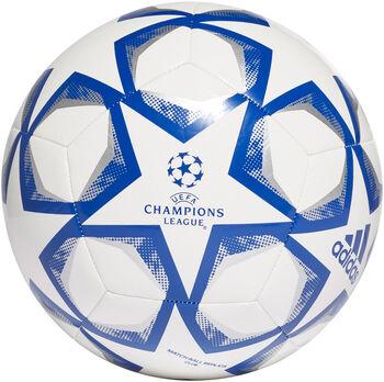 adidas FIN 20 CLB fotbalový míč bílá