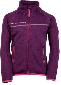 GTS Knitted Fleece Jacket Kids fialová