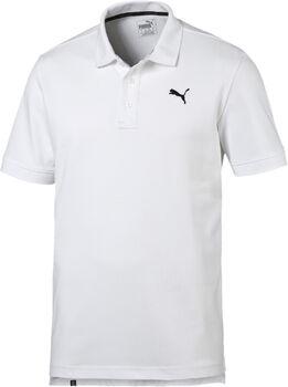 Puma Essential Pique Polo M Pánské bílá