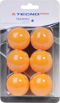 TECNOPRO TT Tréninkové míčky oranžová