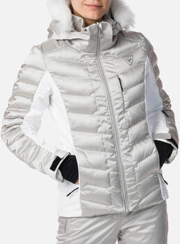 Rossignol Rapide Silver lyžařská bunda Dámské šedá