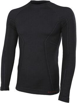 BRUBECK Active Wool termo tričko Pánské černá