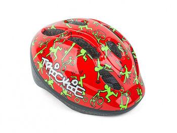 Author Trickie cyklistická helma červená