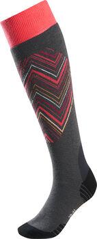 K2  Iris Dl.lyž.ponožky prodospělé, 2 páry, 61%Pc, Dámské růžová