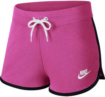 Nike W Nsw Hrtg Short Fleece Dámské růžová