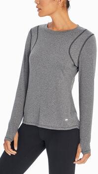 Marika Finish Line L/S tréninkové tričko Dámské černá
