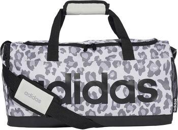 adidas LIN DUF LEP Sports Bag šedá