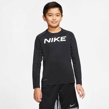 Nike Chl.-Triko s dlouhým ruká B NP LS FTTD T Chlapecké černá