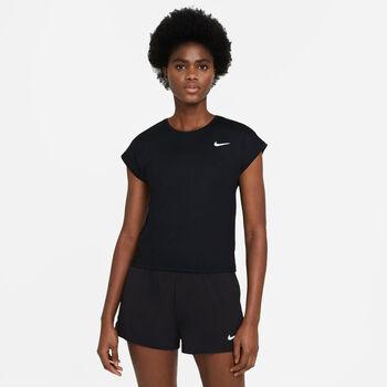Nike Court Victory tenisové tričko Dámské černá