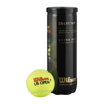 Wilson US Open tenisové míčky žlutá