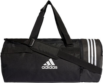 adidas Convertible 3-Stripes Duffel Bag černá