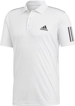 adidas 3-Stripes Club Polo M Pánské bílá