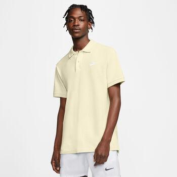 Nike Sportswear Polo sportovní tričko Pánské žlutá