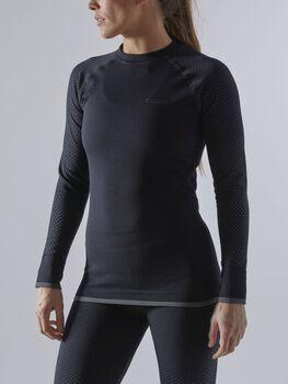 Craft L/SAdv Warm Fuseknit funkční tričko Dámské černá