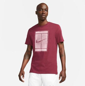 Nike Essential Court tričko Pánské červená