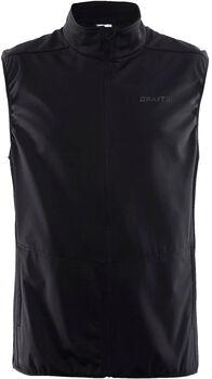 Craft Warm Vest softshellová vesta Pánské černá