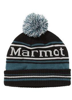 Marmot Retro Pom hat čepice černá
