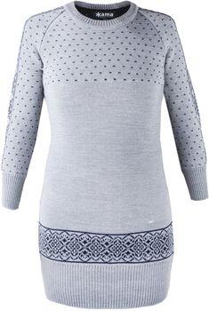 Kama 5016 merino šaty Dámské šedá