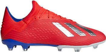 adidas X 18.2 FG M Pánské červená