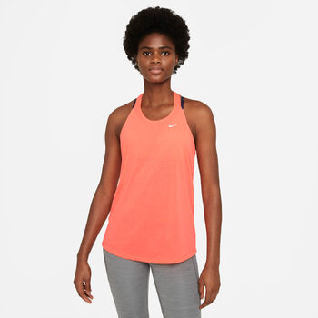 Nike W Nk Dry Essential Elastika Tank Dámské oranžová
