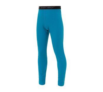 Sensor Merino DF termo kalhoty modrá