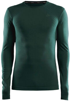 Craft Fuseknit Comfort funkční tričko Pánské zelená