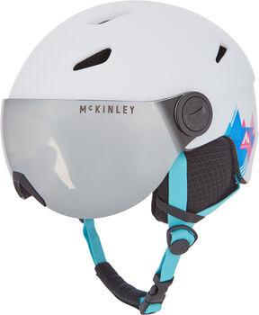 McKINLEY Pulse Visor lyžařská helma bílá