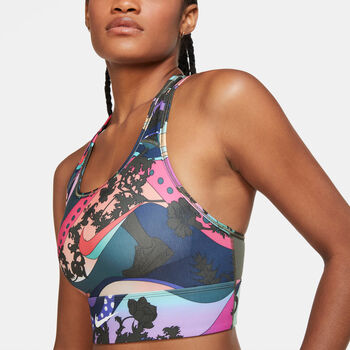 Nike Tight Run Bra Dámské multicolor