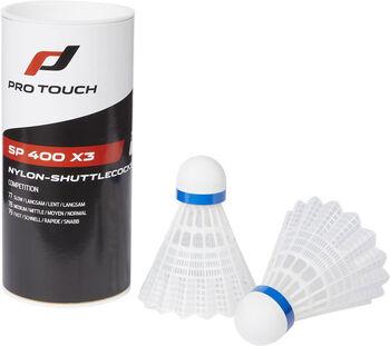 Pro Touch Badmint.míč SP 400 x3 bílá