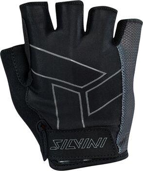Silvini Liro cyklistické rukavice černá