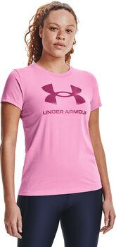 Under Armour Live Sportstyle Graphic sportovní tričko Dámské růžová