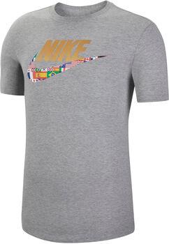 Nike NSW Tee Preheat sportovní tričko Pánské šedá