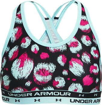 Under Armour Crossback Printed Dívčí černá