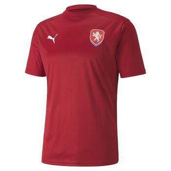 Puma FACR Home dres fanoušci červená